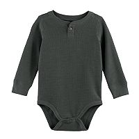 Baby Boy Jumping Beans® Thermal Henley Bodysuit