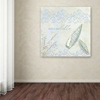 Trademark Fine Art She Sells Seashells II Canvas Wall Art