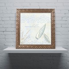 Trademark Fine Art She Sells Seashells II Ornate Framed Art
