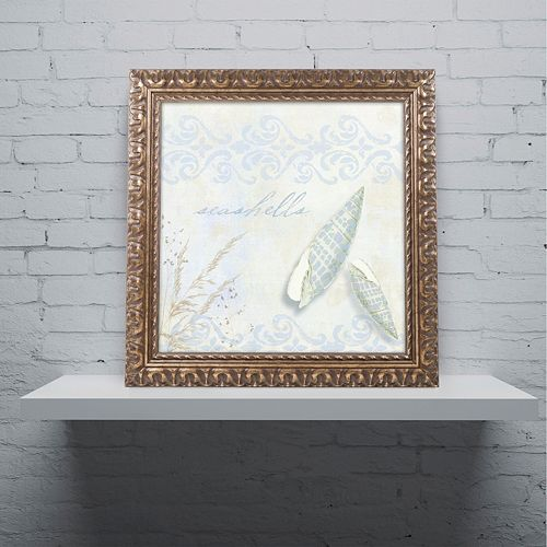 Trademark Fine Art She Sells Seashells II Ornate Framed Art