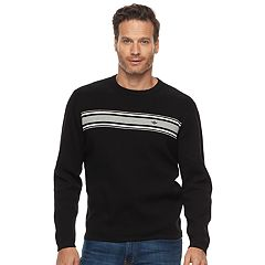 Men's Dockers Milano Classic-Fit Striped Crewneck Sweater
