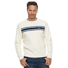 Men's Dockers Milano Classic-Fit Striped Crewneck Sweater