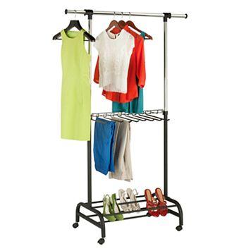 Honey-Can-Do Adjustable Garment Rack