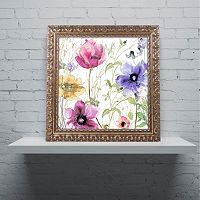 Trademark Fine Art Summer Diary I Ornate Framed Art