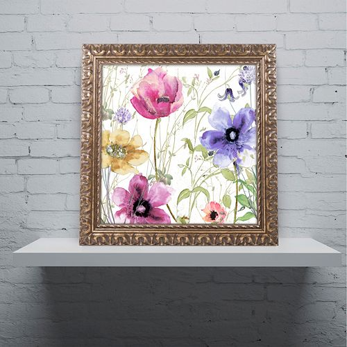 Trademark Fine Art Summer Diary I Ornate Framed Art