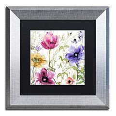 Trademark Fine Art Summer Diary I Framed Wall Art
