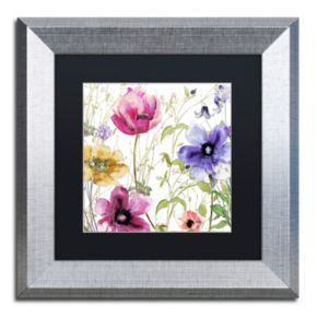 Trademark Fine Art Summer Diary I Framed Wall Art