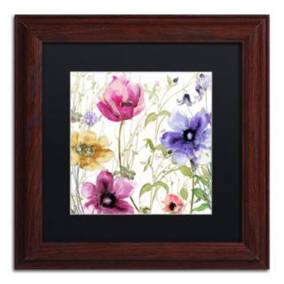 Trademark Fine Art Summer Diary I Traditional Framed Wall Art