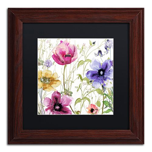 Trademark Fine Art Summer Diary I Traditional Framed Wall Art