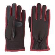 Women's isotoner Stretch Ottoman Fleece smarTouch smartDRI Tech Gloves