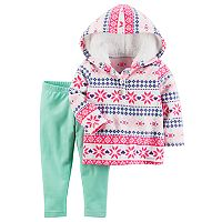 Toddler Girl Carter's 2-pc. Fleece Hoodie & Legging Set