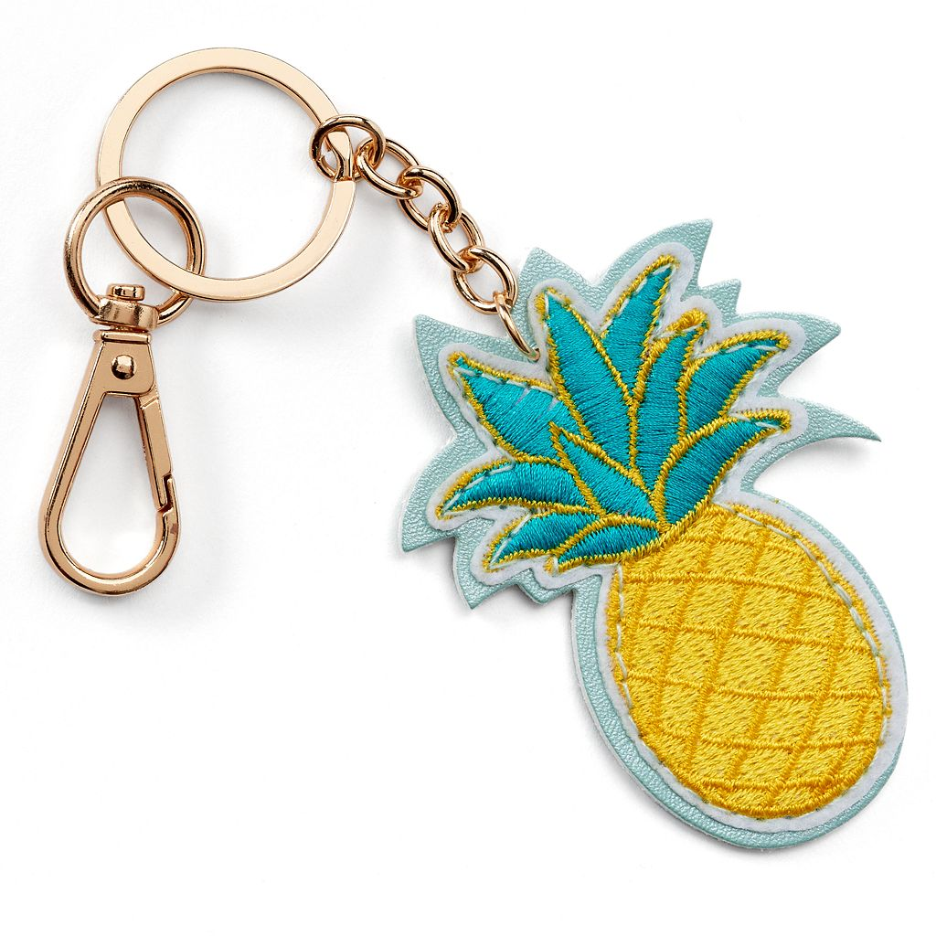 LC Lauren Conrad Pineapple Key Chain