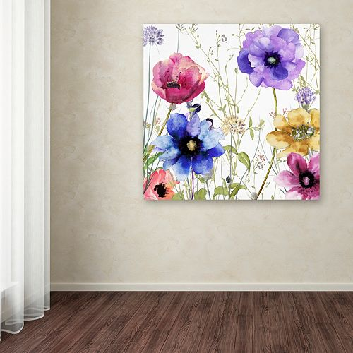 Trademark Fine Art Summer Diary II Canvas Wall Art