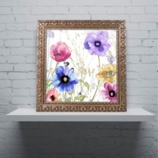 Trademark Fine Art Summer Diary II Ornate Framed Art