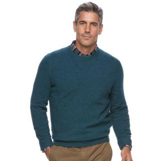 Men's Croft & Barrow® Classic-Fit Stretch Crewneck Sweater
