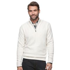 Men's Croft & Barrow® True Comfort Classic-Fit Quarter-Zip Sweater