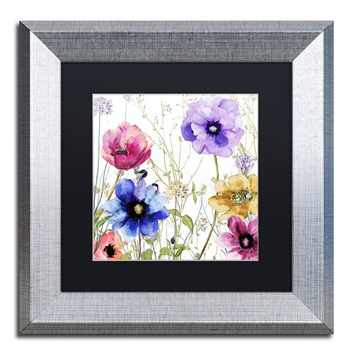 Trademark Fine Art Summer Diary II Framed Wall Art