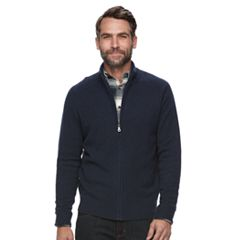 Men's Croft & Barrow® True Comfort Classic-Fit Full-Zip Sweater