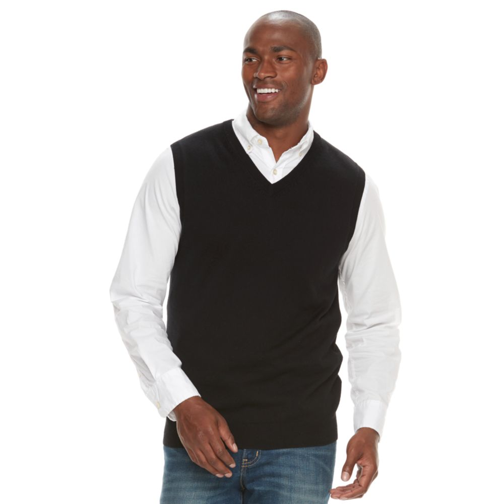Croft & Barrow® True Comfort Classic-Fit Sweater Vest