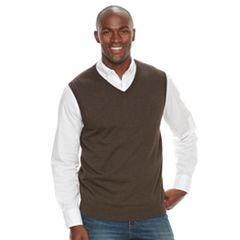 Men's Croft & Barrow® True Comfort Classic-Fit Sweater Vest