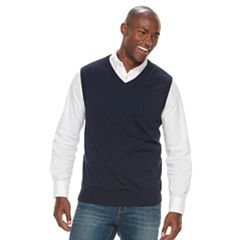 Men's Croft & Barrow® True Comfort Classic-Fit Sweater Vest
