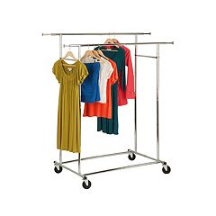 Honey-Can-Do Double Commercial Garment Rack