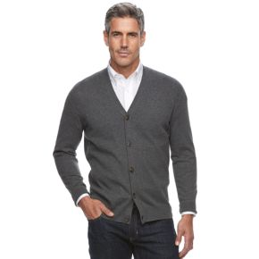 Men's Croft & Barrow® Classic-Fit True Comfort Easy-Care Cardigan Sweater