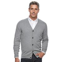 Men's Croft & Barrow® Classic-Fit True Comfort Easy-Care Cardigan Sweater