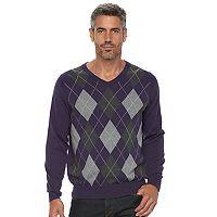 Men's Croft & Barrow® True Comfort Classic-Fit V-Neck Sweater