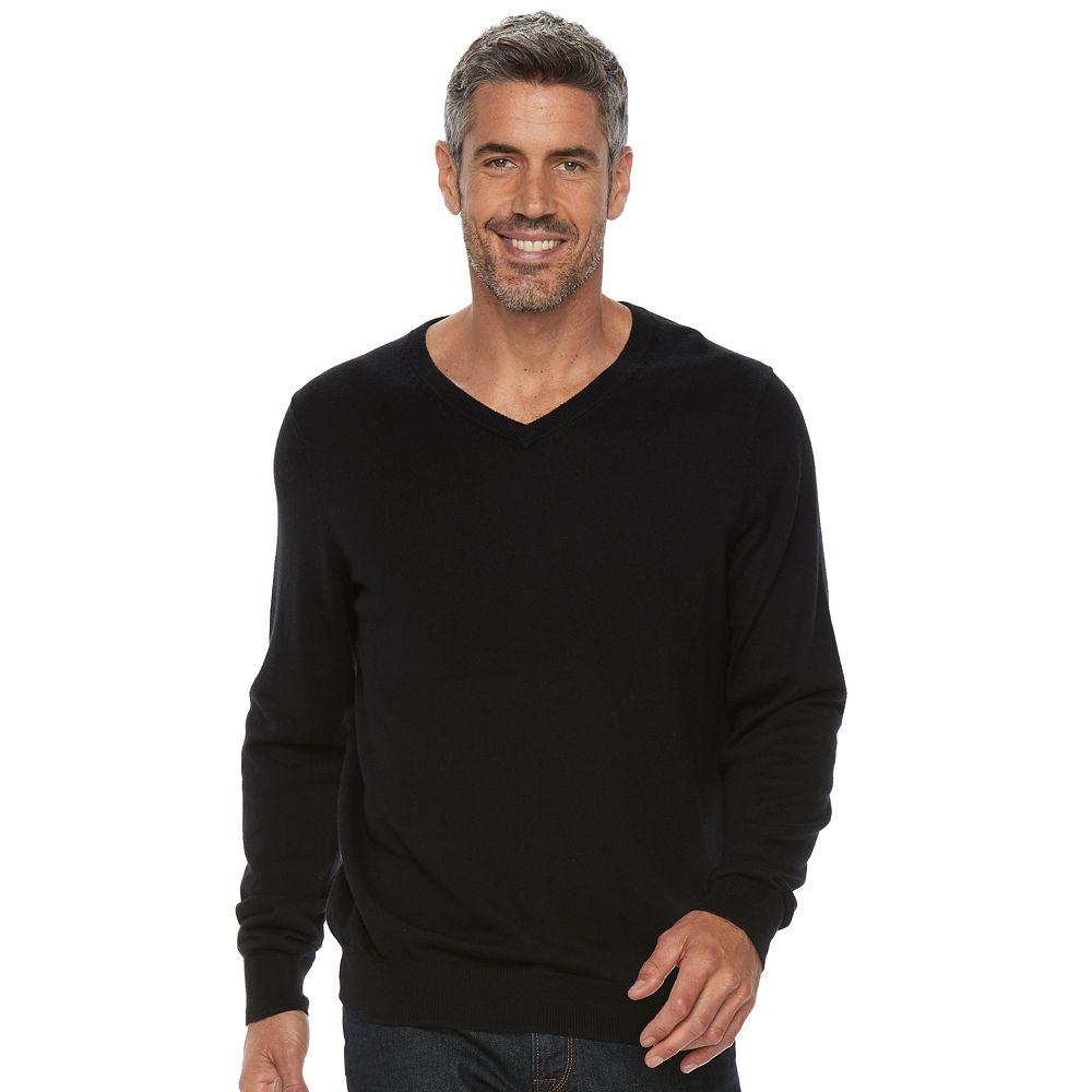 Croft & Barrow® True Comfort Classic-Fit V-Neck Sweater