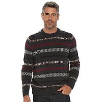 Men's Croft & Barrow® Classic-Fit Crewneck Sweater