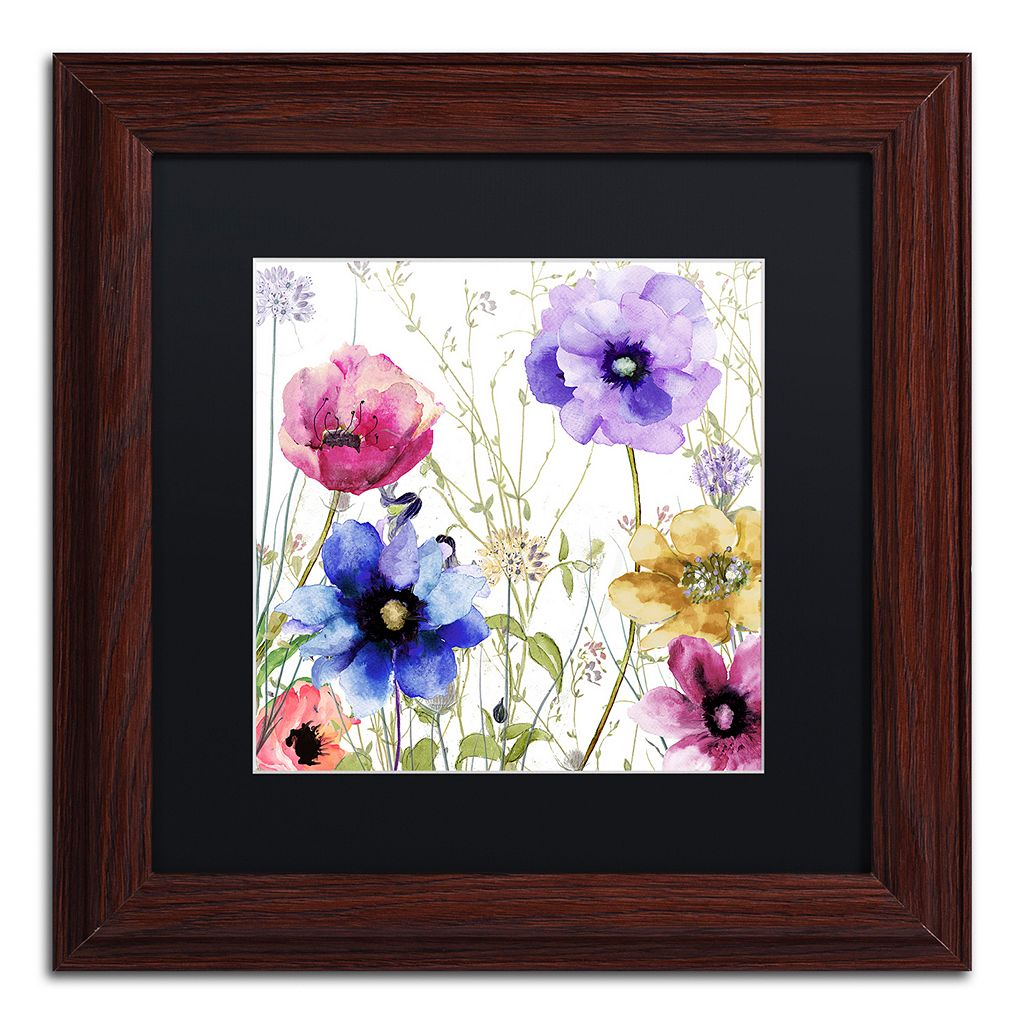 Trademark Fine Art Summer Diary II Traditional Framed Wall Art