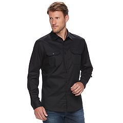 Men's Apt. 9® Premier Flex Stretch Woven Button-Down Shirt