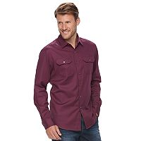Men's Apt. 9® Flex Stretch Woven Button-Down Shirt