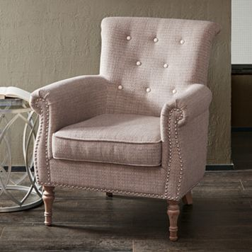 Madison Park Zeke Tufted Accent Chair