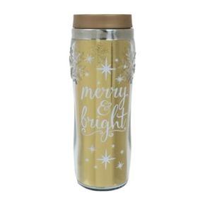 """St. Nicholas Square® """"Merry & Bright"""" Thermal Mug"""