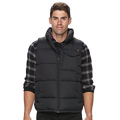 Big & Tall Hemisphere Solid Puffer Vest