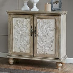 Madison Park Wyatt Elegant Storage Cabinet