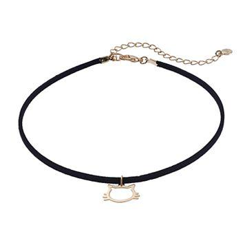 LC Lauren Conrad Cat Choker Necklace