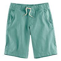 Boys 8-20 Urban Pipeline Stretch Twill Pull-On Shorts