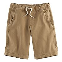 Boys 8-20 Urban Pipeline Stretch Twill Pull-On Shorts