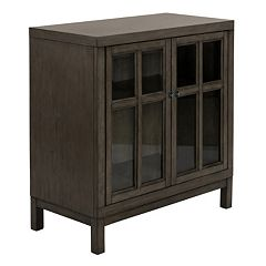 Madison Park Helena Window Pane Storage Cabinet