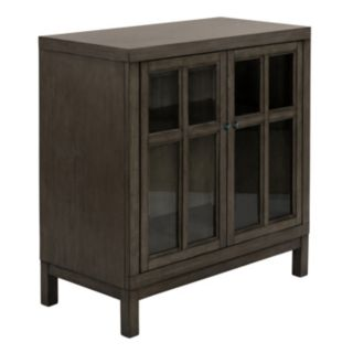 Madison Park Helena Window Pane Storage Cabinet
