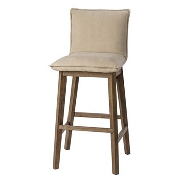INK+IVY Upholstered Bar Stool