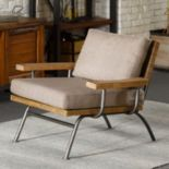 INK+IVY Renu Lounge Arm Chair