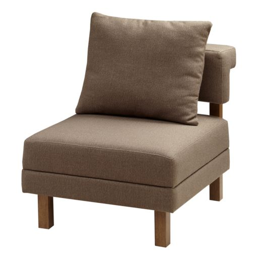 INK+IVY Max Modular Lounge Accent Chair
