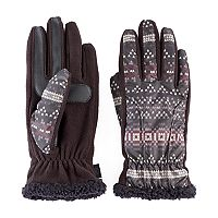Women's Isotoner Fleece smarTouch smartDRI Tech Gloves