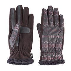 Women's isotoner Fleece smarTouch smartDRI Tech Gloves