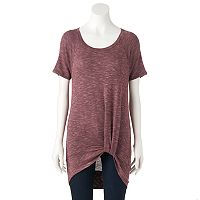 Women's Juicy Couture Marled Twist Tunic
