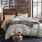 INK+IVY Renu Rustic Industrial Queen Headboard